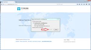 Klient Mozilla Firefox krok 2