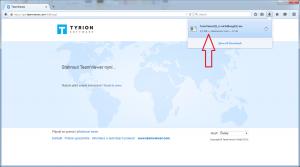 Klient Mozilla Firefox krok 3